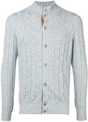 Doriani Cashmere cable knit cardigan