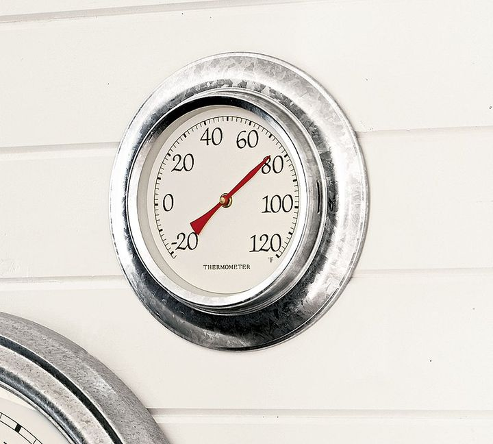 Galvanized Thermometer