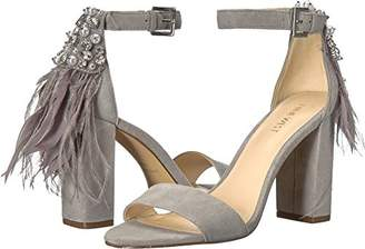 Nine West Women's Aaronita Suede Heeled Sandal