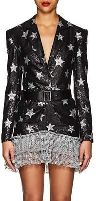 KALMANOVICH Women's Star-Motif Sequined Blazer