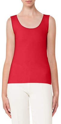 Akris Stretch-Silk Tank Top