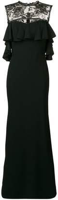 Alexander McQueen lace detail sleeveless dress