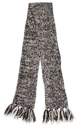 Woolrich Knit Fringe Scarf