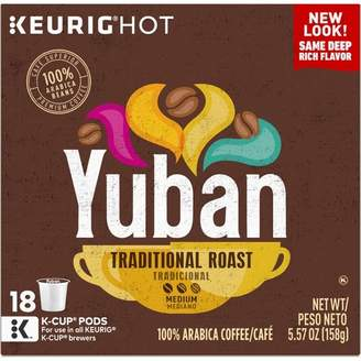 Keurig Yuban Gold Original Medium Roast Coffee K-Cup Pods - 18ct
