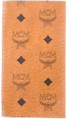 MCM Visetos Bifold Travel Wallet