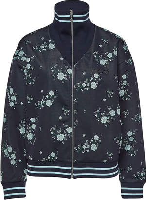 Kenzo Printed Bomber Jacket with Embroidery