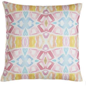 "Bunglo Lemon Tree Pillow, 20""Sq."
