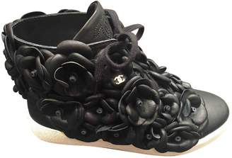 Chanel Leather Trainers