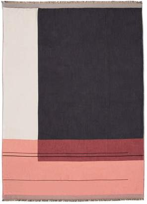 ferm LIVING Color Block Throw Blanket