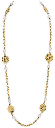 One Kings Lane Vintage Chanel Chain Necklace - Vintage Lux