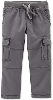 Carter's Toddler Boys Reinforced-Knee Cargo Pants