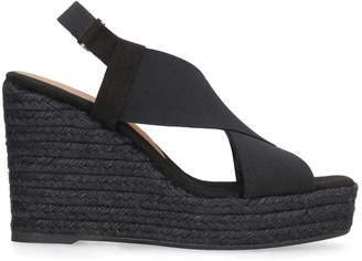 Castaner Federica Wedges With Crossed Bands
