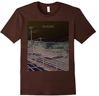 I'm Alone Soft Grunge Aesthetic T-Shirt
