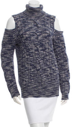 Tracy Reese Cable Knit Turtleneck w/ Tags $95 thestylecure.com