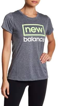 New Balance Short Sleeve Moisture Wicking Graphic Tee