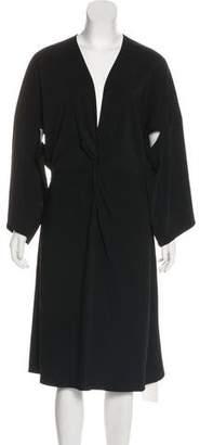 Rosetta Getty Midi Long Sleeve Dress w/ Tags