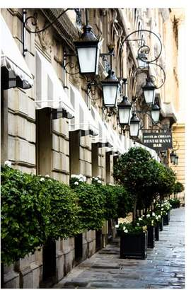 Pottery Barn Early Morning in Paris by Rebecca Plotnick