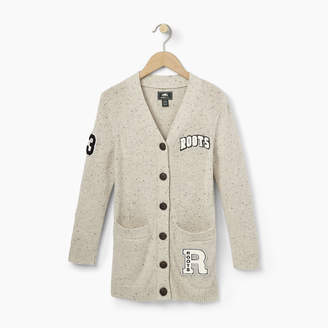 Roots Girls Varsity Sweater Cardigan