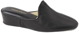 Daniel Green Traditional Slip-On Wedge Slippers- Glamour