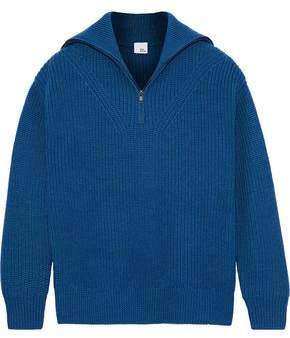 Iris & Ink Pip Ribbed Wool Sweater