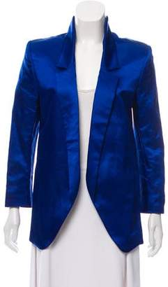 Theyskens' Theory Notch Collar Button-Less blazer w/ Tags