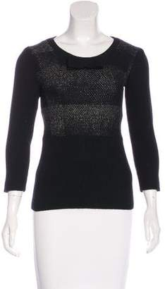 Burberry Wool Patterned Top