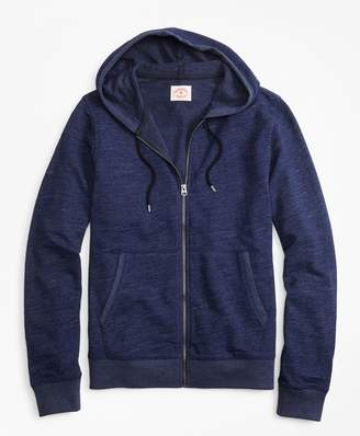 Brooks Brothers Indigo French Terry Hoodie