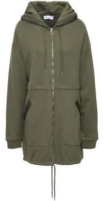 Ninety Percent French Cotton-terry Hooded Jacket