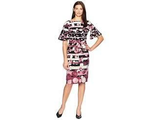 Gabby Skye Bell Sleeve Dress w/ Sash Women's Dress