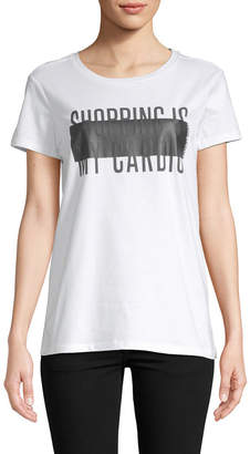 Armani Exchange Text Graphic T-Shirt