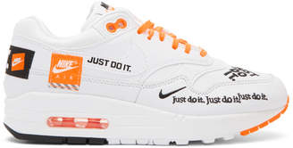 Nike White 1 Lux Sneakers