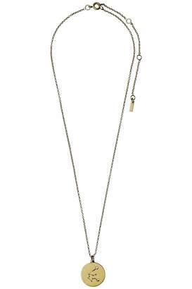 Pilgrim Aquarius Gold Star-Sign-Necklace