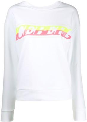 Iceberg sequin logo sweatshirt