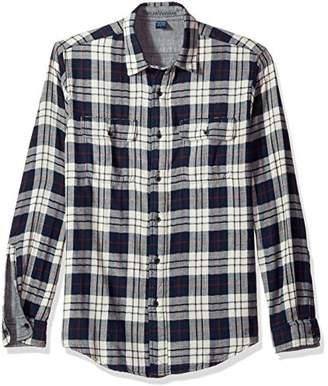 Tailor Vintage Men's Trail Long Sleeve Doubleface Reversible Shirt