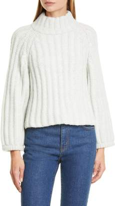 Eleven Paris Six Maggie Turtleneck Alpaca Blend Sweater