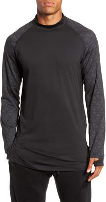 Nike Niko Pro Therma Long Sleeve Mock Neck T-Shirt