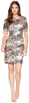 Tahari ASL Sequin Sheath Dress Women's Dress
