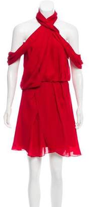Camilla And Marc Lou Lou Silk Knee-Length Dress w/ Tags