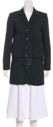 Marc Jacobs Short Wool Coat