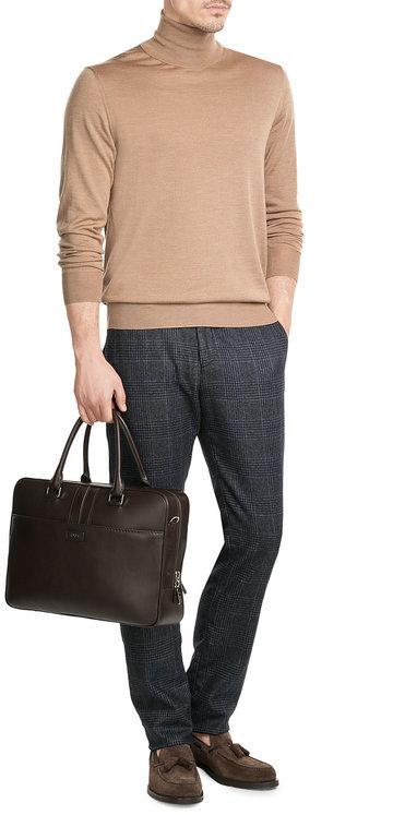 Jil SanderJil Sander Wool Turtleneck Pullover with Silk