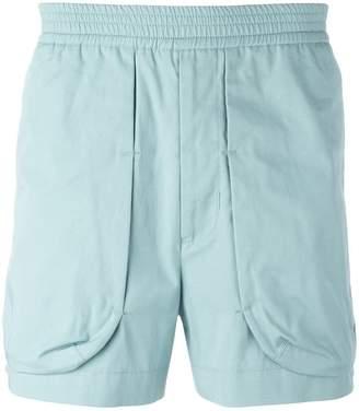 Qasimi external pockets shorts