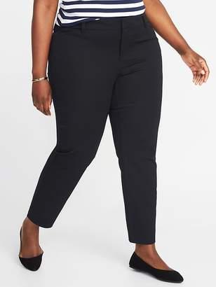 Old Navy Mid-Rise Plus-Size Pixie Pants