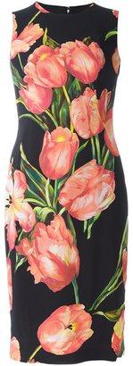 Dolce & Gabbana tulip print dress $2,145 thestylecure.com