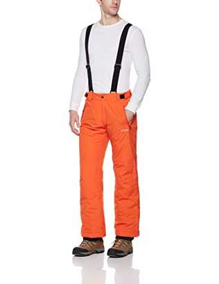 5Oaks Men's Basic Ski Snow Bib Pant with Adjustable Suspender S