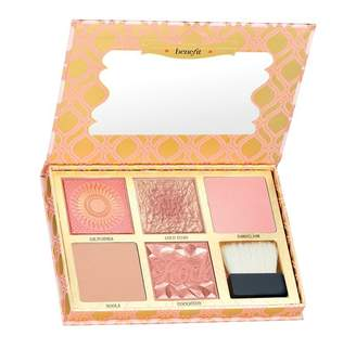 Benefit Cosmetics BLUSH BAR 'CHEEKS ON POINTE' BLUSH & BRONZER PALETTE ($190 VALUE)
