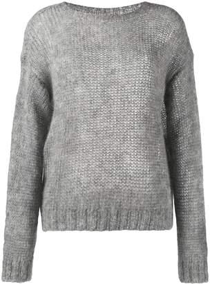Prada open-knit jumper