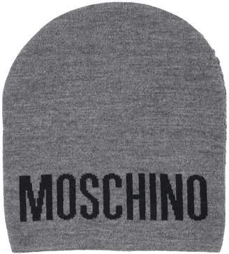 Moschino logo beanie