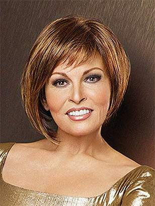 Hairdo. by Jessica Simpson & Ken Paves Raquel Welch Bewitched Short Asymmetrical Comfort Cap Wig