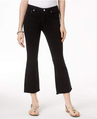 Michael Kors MICHAEL Cropped Flare-Leg Jeans
