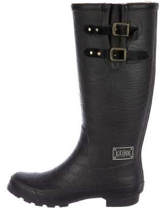 Australia Luxe Collective Embossed Rain Boots